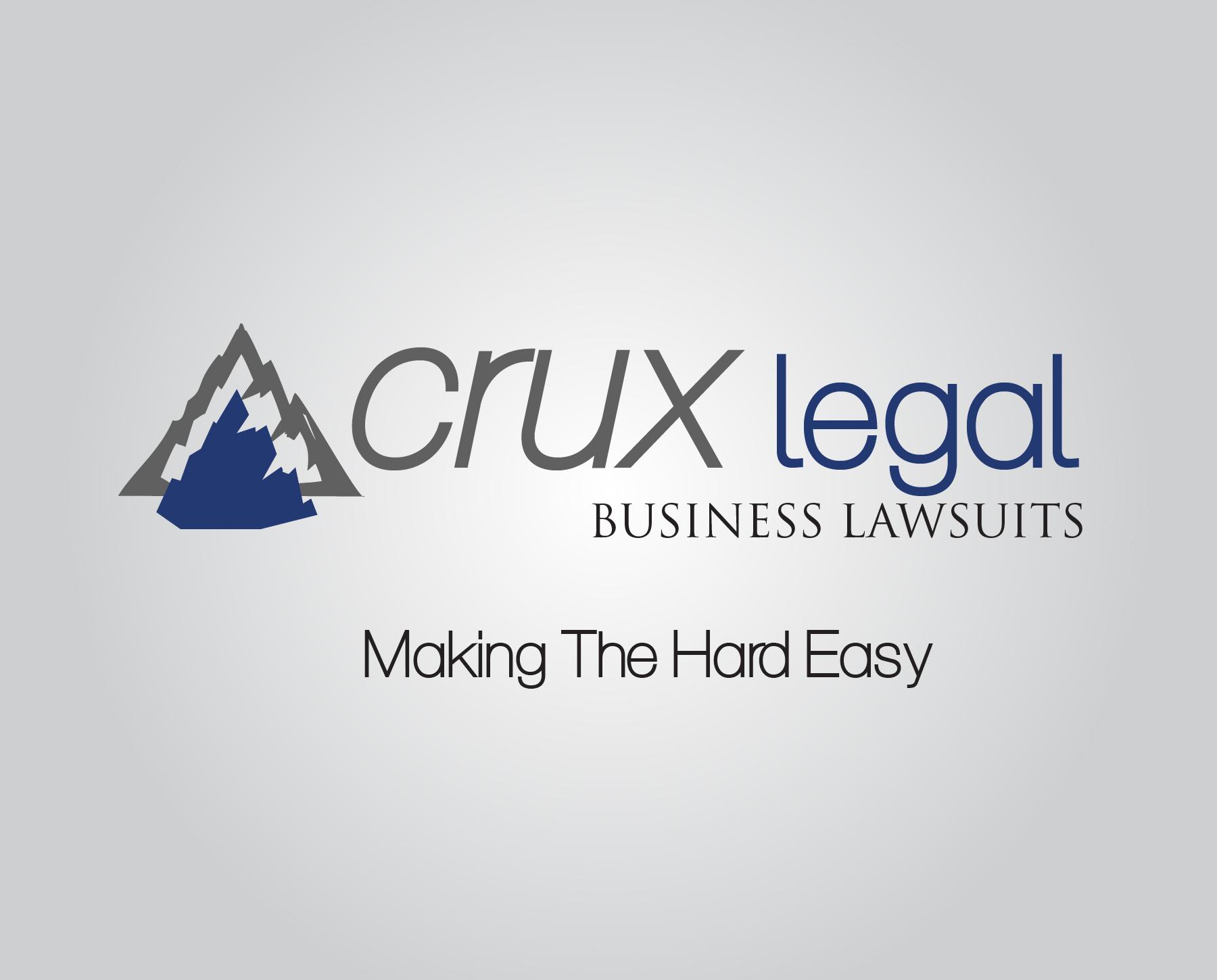 Crux Legal Business Lawsuits